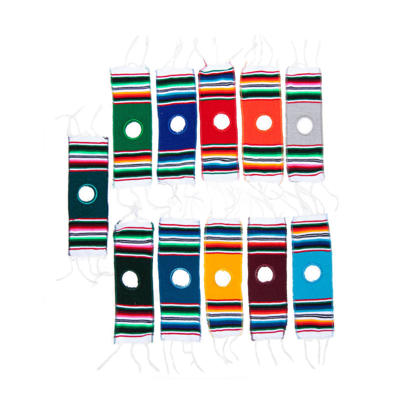 Beer Bottle Serape Poncho