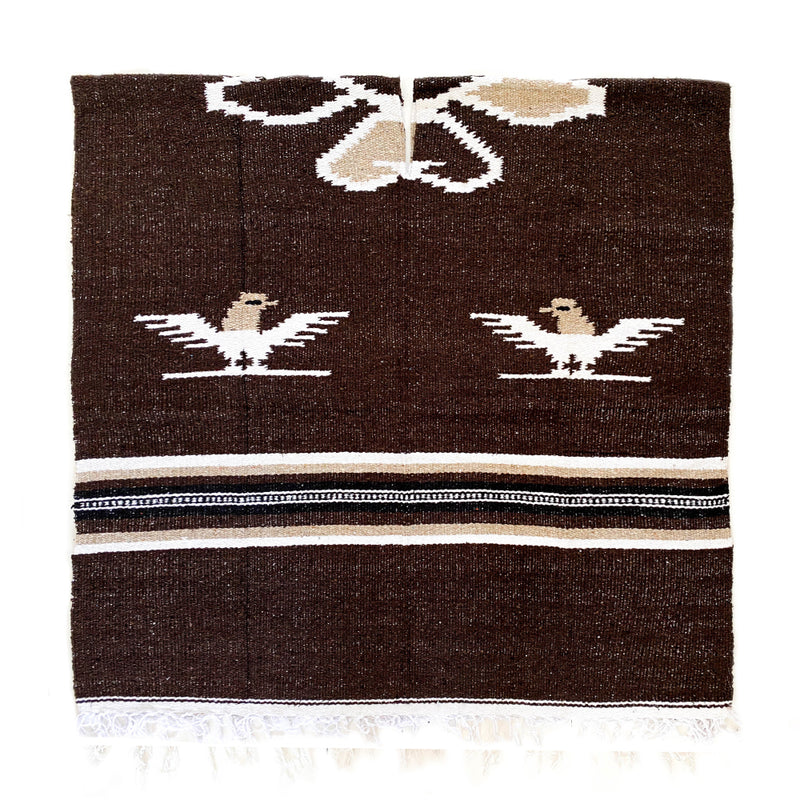 Poncho - Eagle - Dark Brown