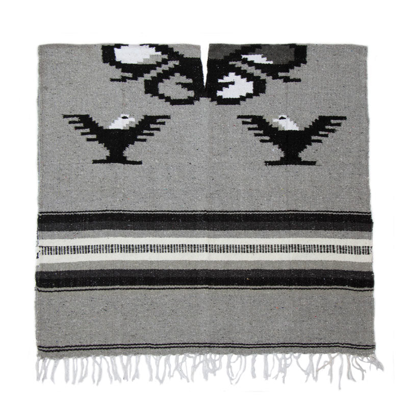 Poncho - Eagle - Light Grey