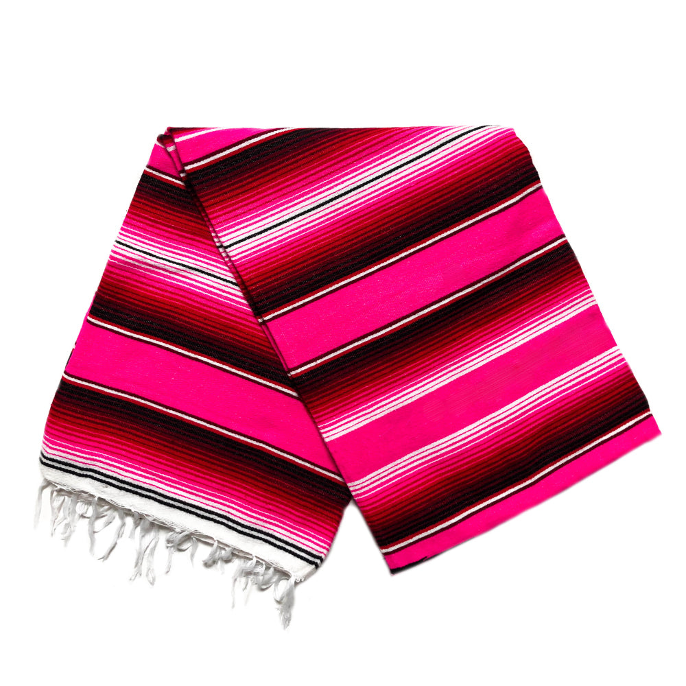 Serape - Hot Pink & Red