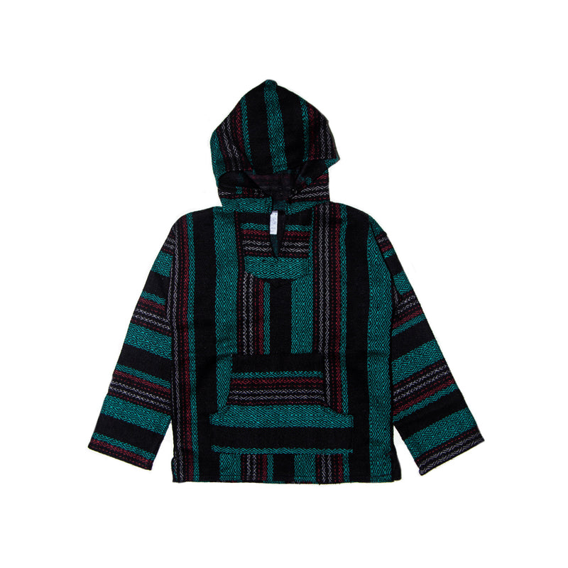 Kids Baja - Large Aqua & Black