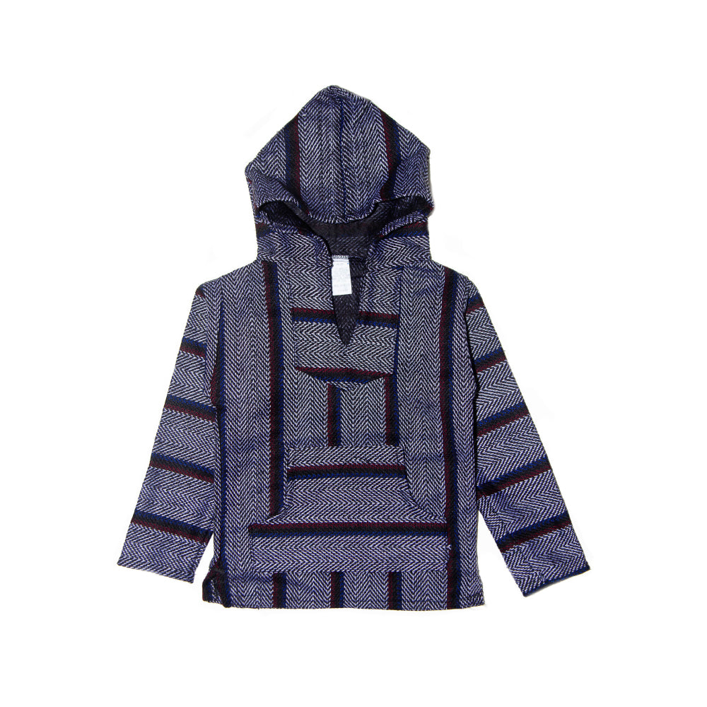 Kids Baja - Small Aztec Blue