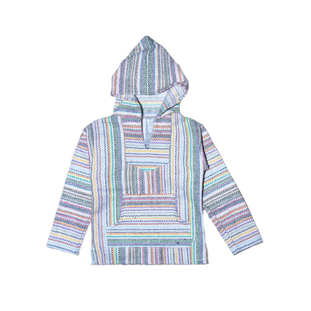 Kids Baja - Small White Fluro Stripe