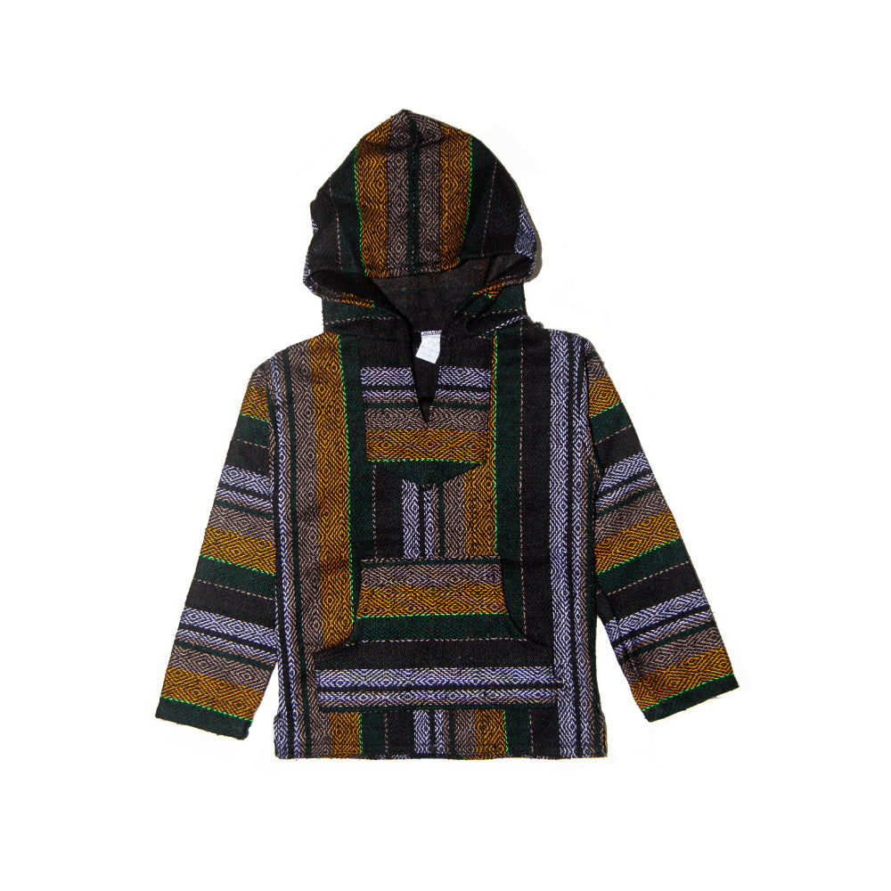 Kids Baja - Xlarge Forest Stripe