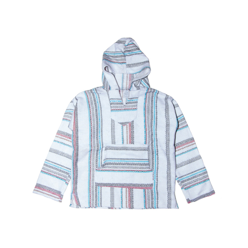 Kids Baja - XLarge White, Blue & Red Stripe
