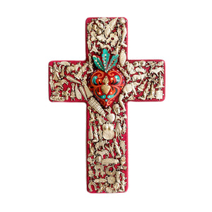 Large Wooden Milagro Cross