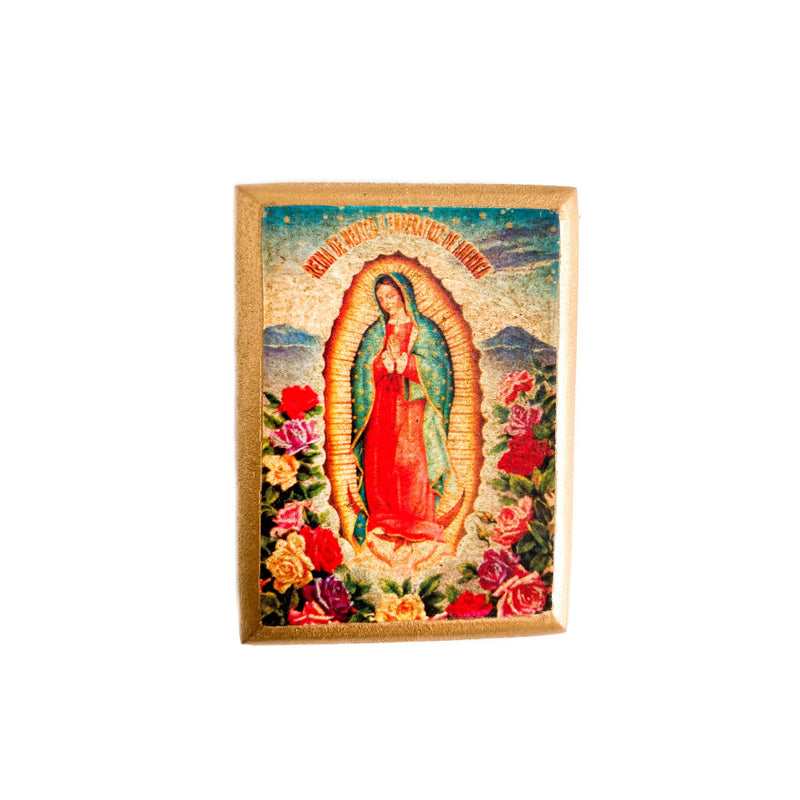 Guadalupe Wooden Magnet - 1