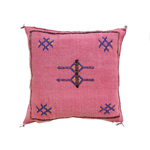 Cactus Silk Cushions - Rose Bud 3