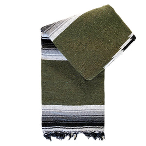 Valley Diamond Blanket - Olive