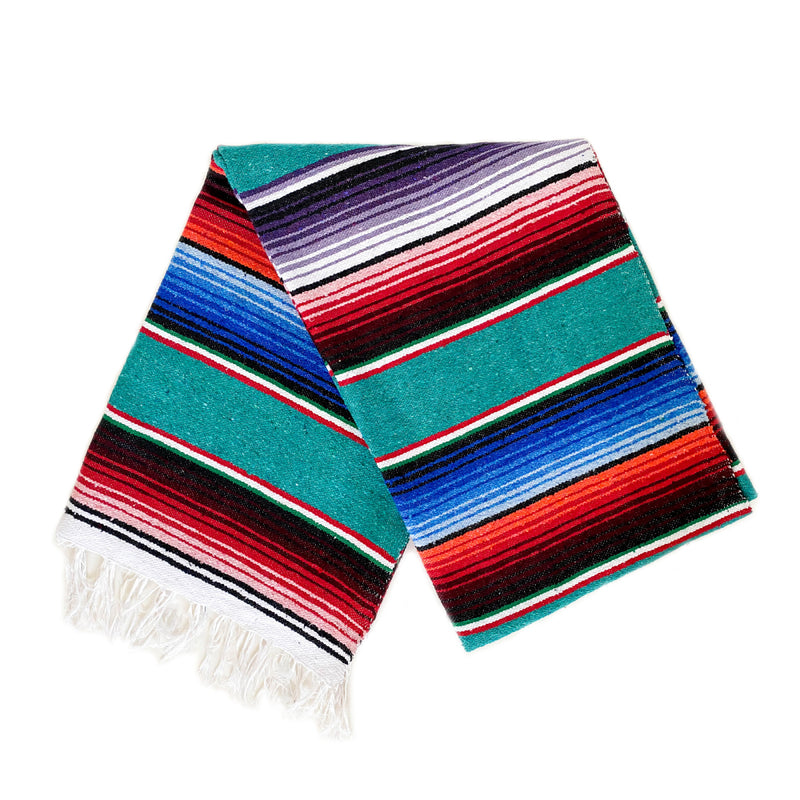 Serape - Teal Cotton