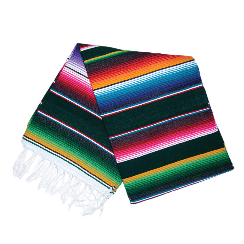 Serape - Forest Green