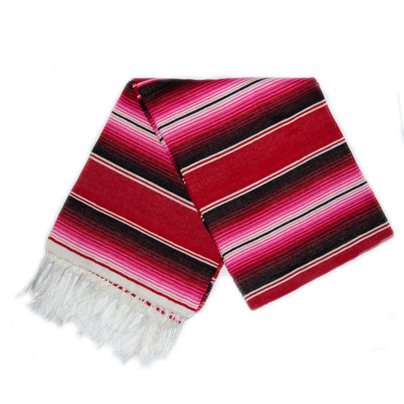 Serape - Pink & Red