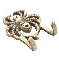 Brass Spider Wall Hook