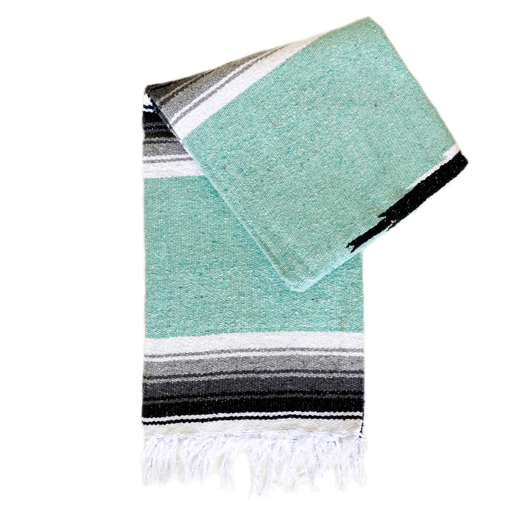 Valley Diamond Blanket - Mint