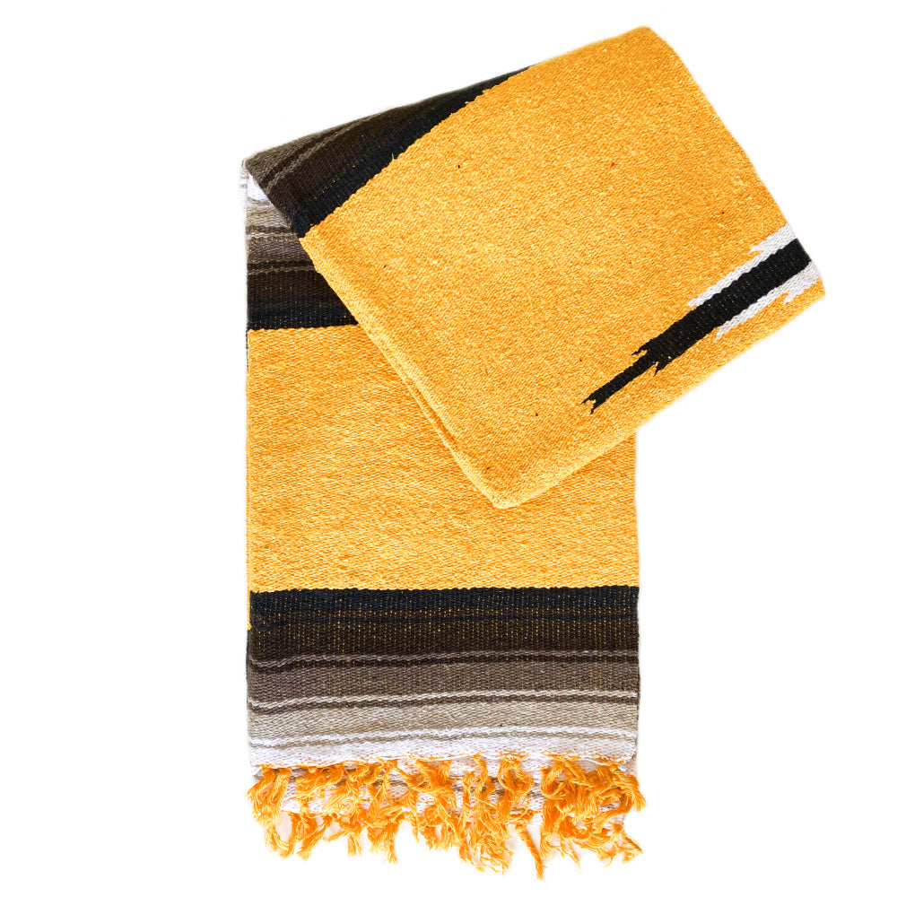 Valley Diamond Blanket - Yellow