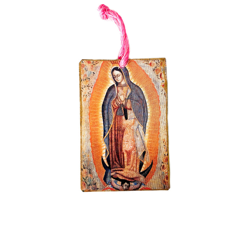 Tin Mini Guadalupe Hanger - 1