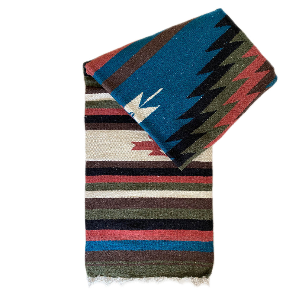 100% Wool Zuma Diamond Blanket - Multi