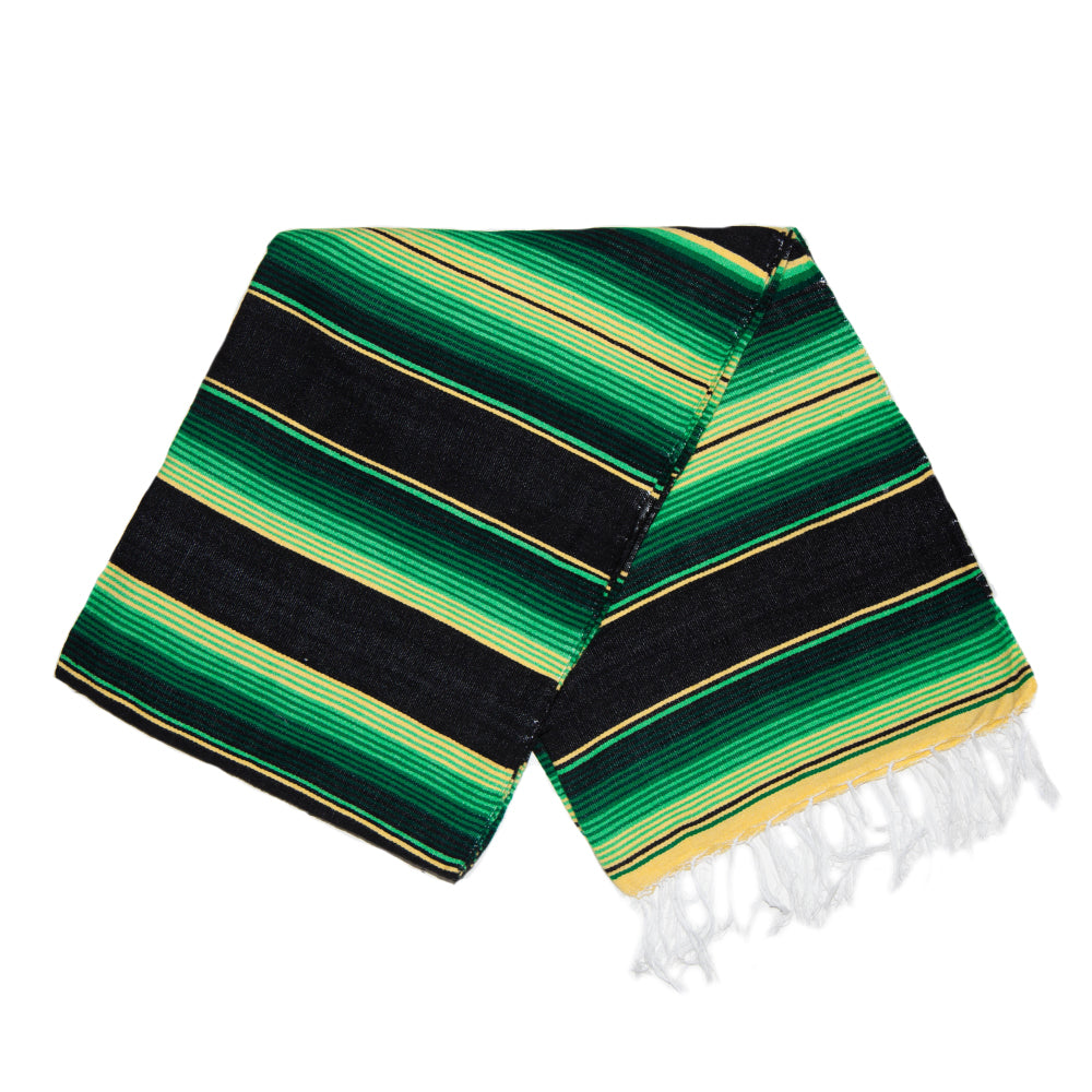 Serape - Green & Yellow