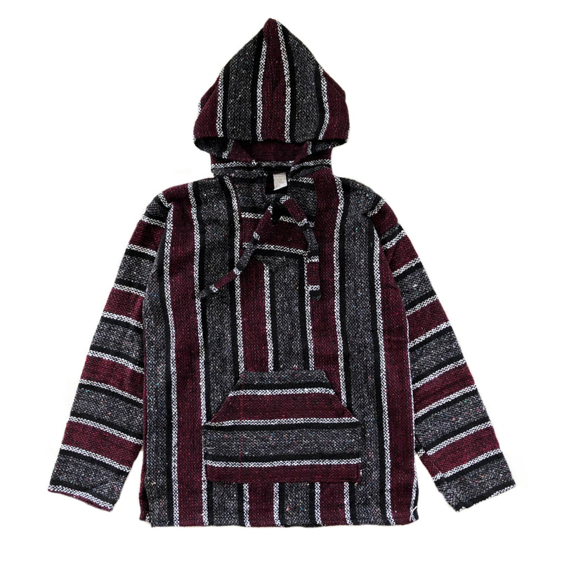 Men's Baja - Xlarge Burgundy & Grey
