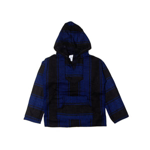 Kids Baja - Medium Black & Electric Blue