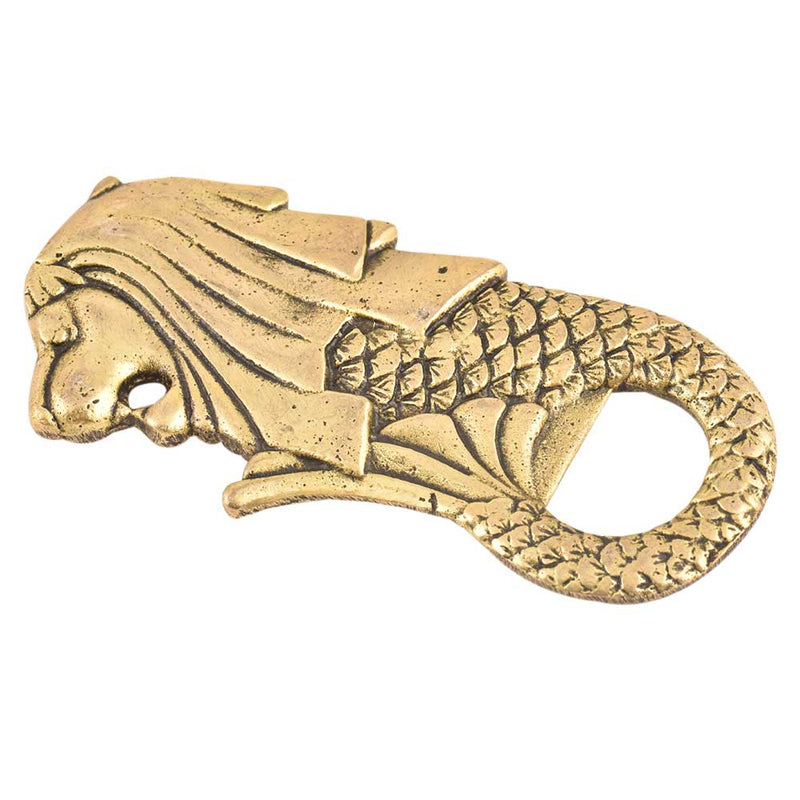 Brass Merlion Bottle Opener