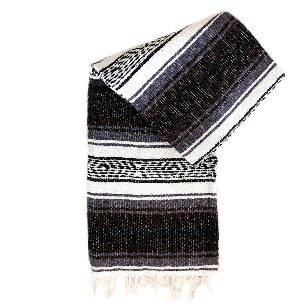 Small Falsa Blanket - Brown & Grey