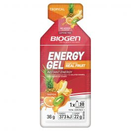 Biogen Real Fruit Energy Gel - Tropical