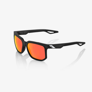 Centric - Soft Tact Crystal Black- Hiper Red Multilayer Mirror Lens