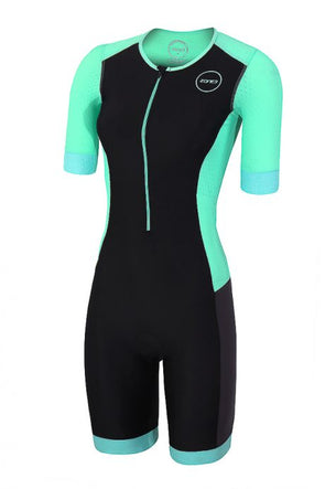 Womens Aquaflo Plus SS Trisuit