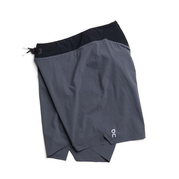 ON Lightweight Shorts - Shadow Black  (Mens)
