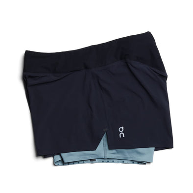 ON Running Shorts - Black Sea (Women)