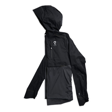 On Weather Jacket - Black  Shadow (Men)