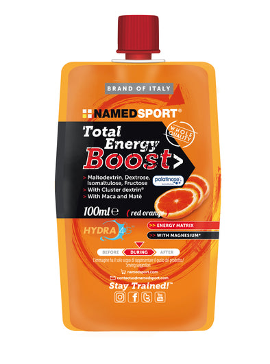 Total Energy Boost Red Orange 100ml