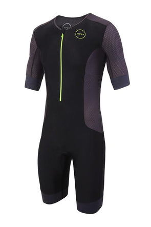 Mens Aquaflo Plus Short Sleeved Trisuit