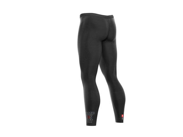 Compressport Under Control Tights Black