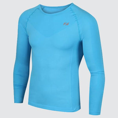 Mens Blue Base Layer