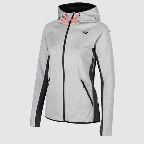 Ladies Zipped Hoodies