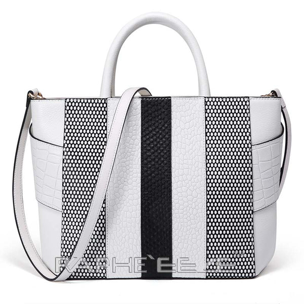 Unique and Stylish Tote Bag for Woman - White