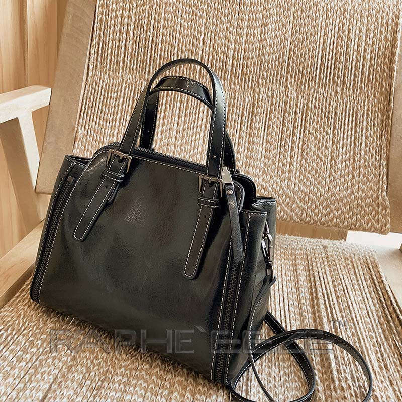 Stylish Tote Bag for Woman - Black