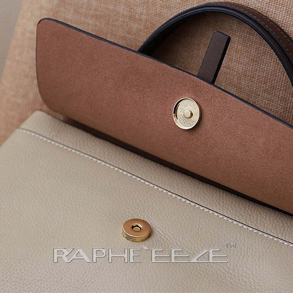 Unique & Elegant Tote Handbag Purses for Women - Caramel Color