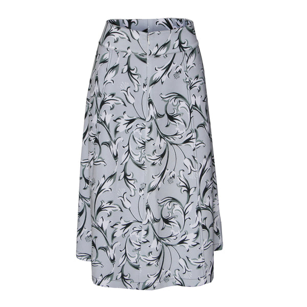 Calf Length Skirt Straight Angle - DIANIAN Design