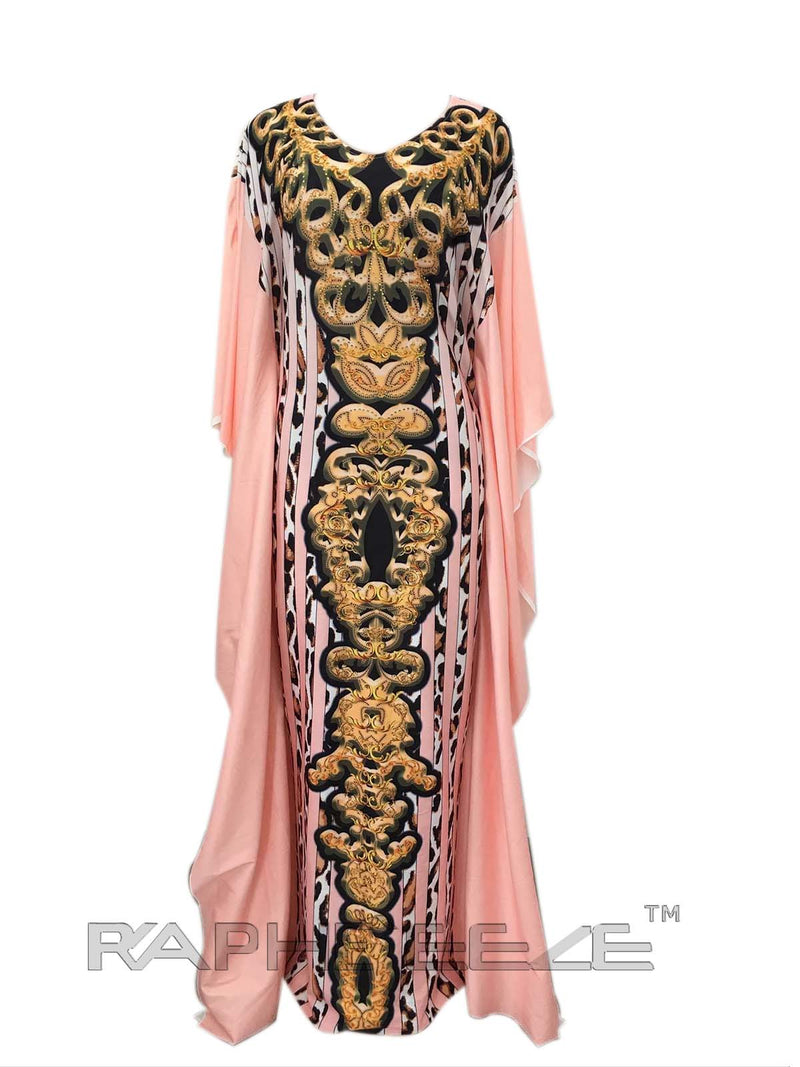 Cream Color Unique Designed Long Party Gown Maxi Style - 1 pcs with S, M, L, XL size