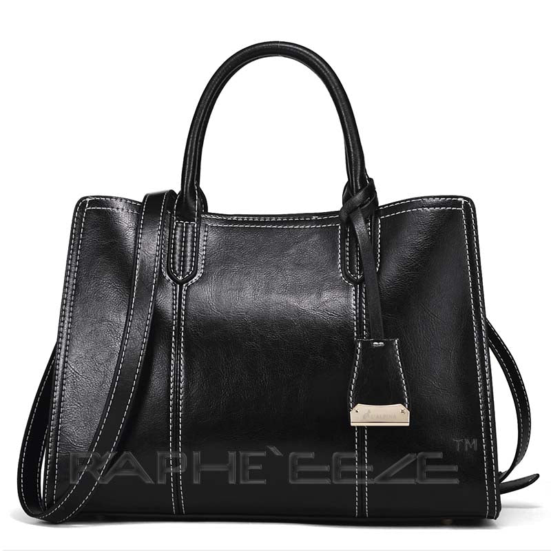 Angelic Tote Handbag for Woman - Black Colour