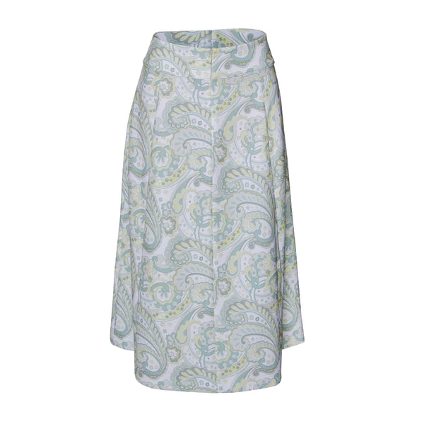 Calf Length Printed Skirt - SUCCESS MIDI