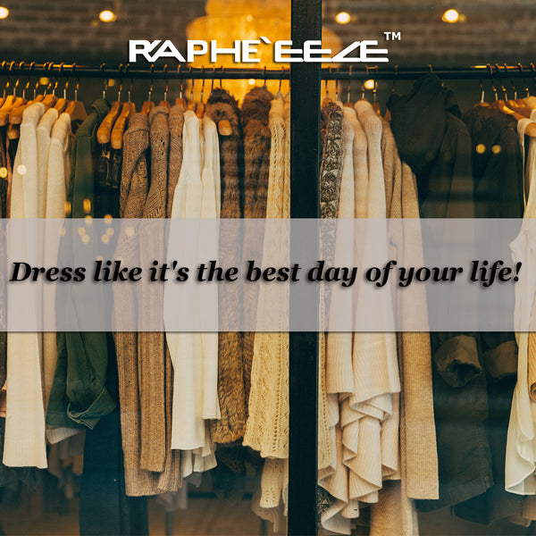 Dress Like it's the best day of Your Life - Amwinner & Rapheeze Presents Unique & Stylish Apparel
