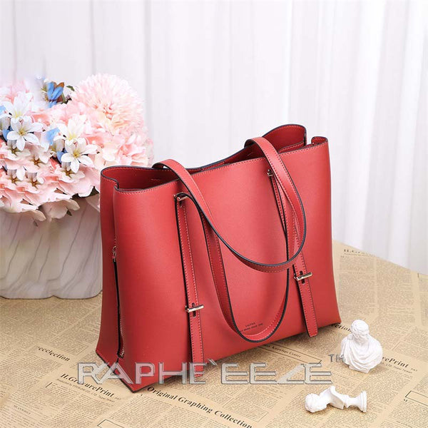 Cross body Classic Backpack for Woman - Red Color