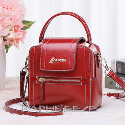 Stylish Tweed Bags for Women - Red