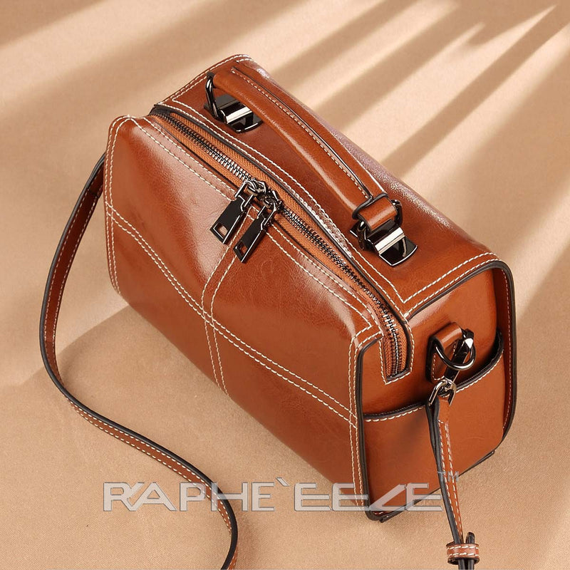 Eye Catching Stylish & Elegant Tote Handbag Purses for Women - Brown Color