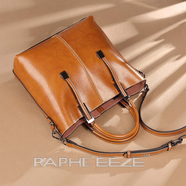 Eye Catching Handbag for Woman Tote Style - Brown