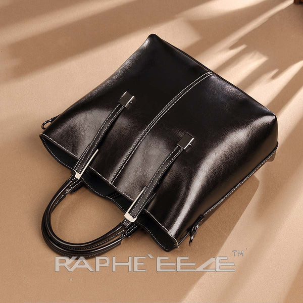 Eye Catching Handbag for Woman Tote Style - Black